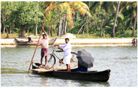 Alleppey Backwater