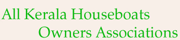 All Kerala Houseboats Owners Associations